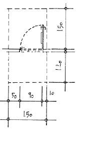 Tür detail grundriss  Wiesbaden-barrierefrei.de | Beschreibung der Details